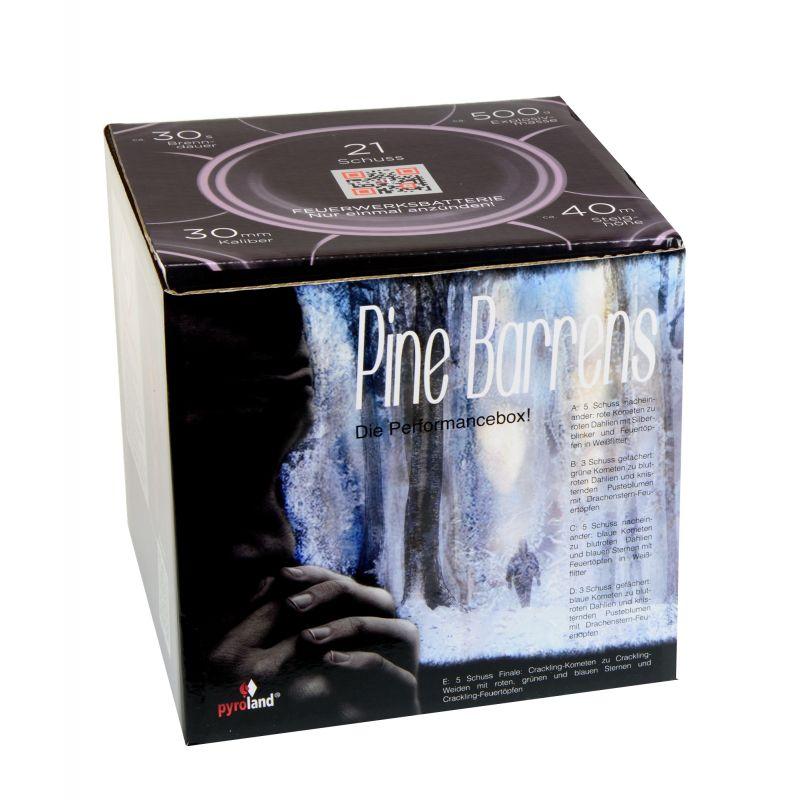 Jetzt Pine Barrens 21-Schuss-Feuerwerk-Batterie ab 19.99€ bestellen