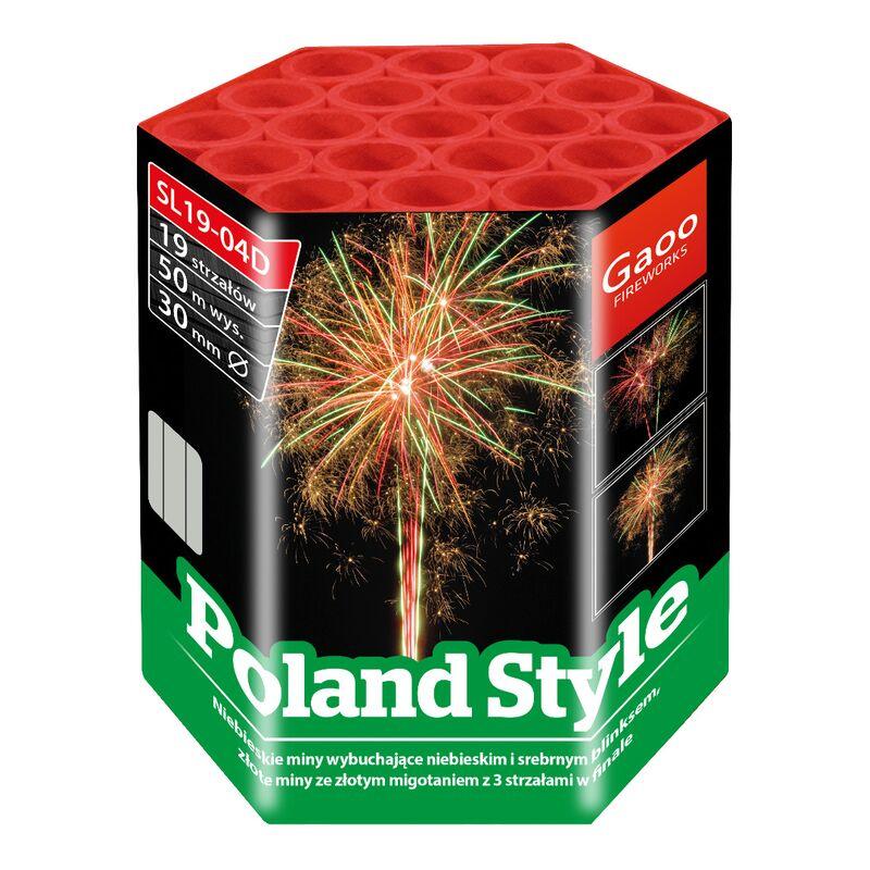 Jetzt Poland Style 19-Schuss-Feuerwerk-Batterie ab 17.99€ bestellen