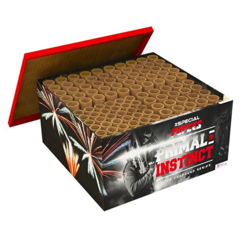 Jetzt Primal Instinct 111-Schuss-Feuerwerkverbund ab 67.99€ bestellen
