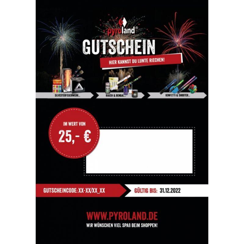 Jetzt Pyroland individueller Geschenk-Gutschein ab 25€ bestellen