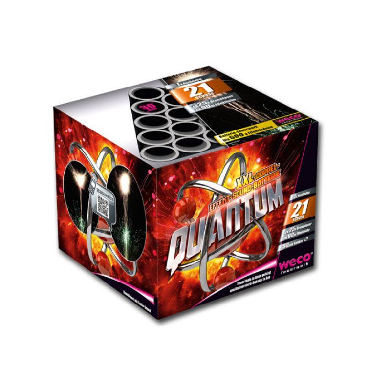 Jetzt Quantum 21-Schuss-Feuerwerk-Batterie ab 23.79€ bestellen