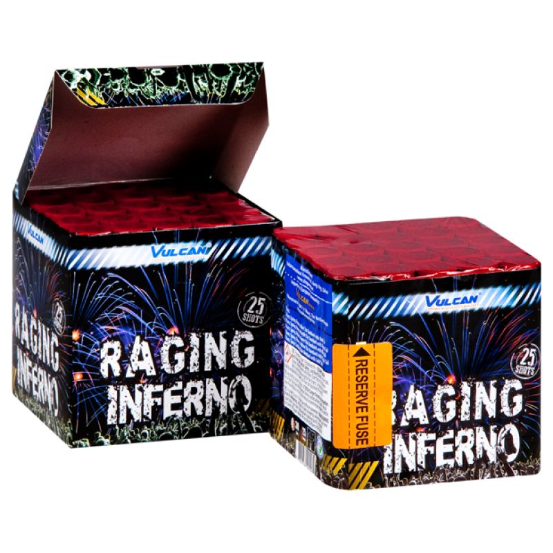 Jetzt Raging Inferno 25-Schuss-Feuerwerk-Batterie ab 9.99€ bestellen