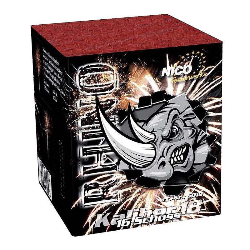 Jetzt Rhino (Out of Control) 16-Schuss-Feuerwerk-Batterie ab 5.94€ bestellen