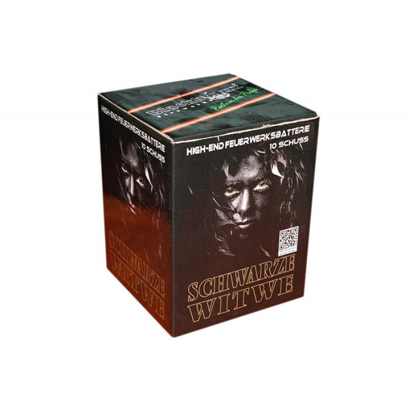 Jetzt Schwarze Witwe 10-Schuss-Feuerwerk-Batterie ab 8.99€ bestellen