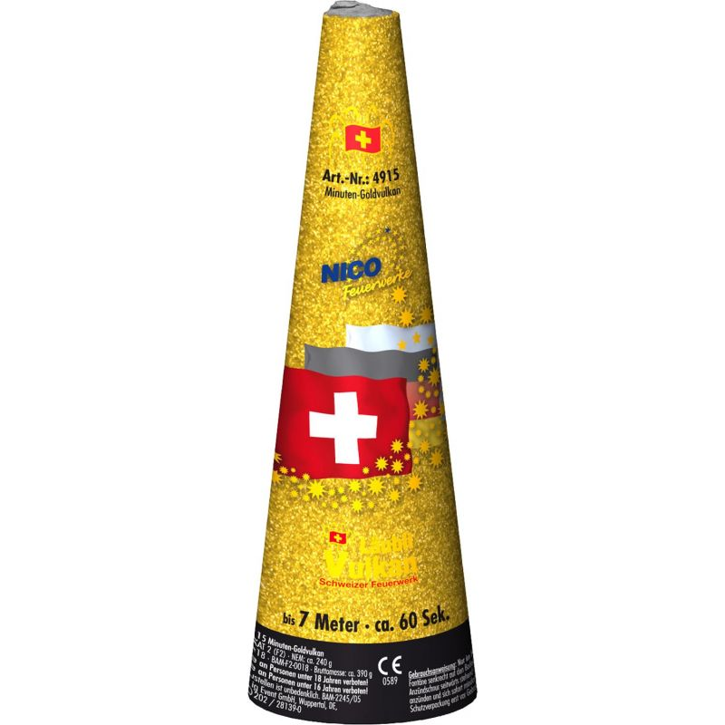Jetzt Schweizer Minuten-Goldvulkan ab 11.89€ bestellen
