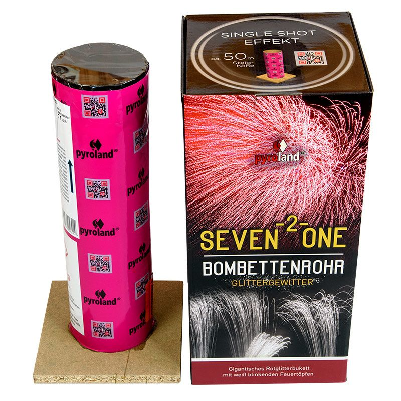 Jetzt Seven-2-One Bombettenrohr Glittergewitter ab 19.99€ bestellen