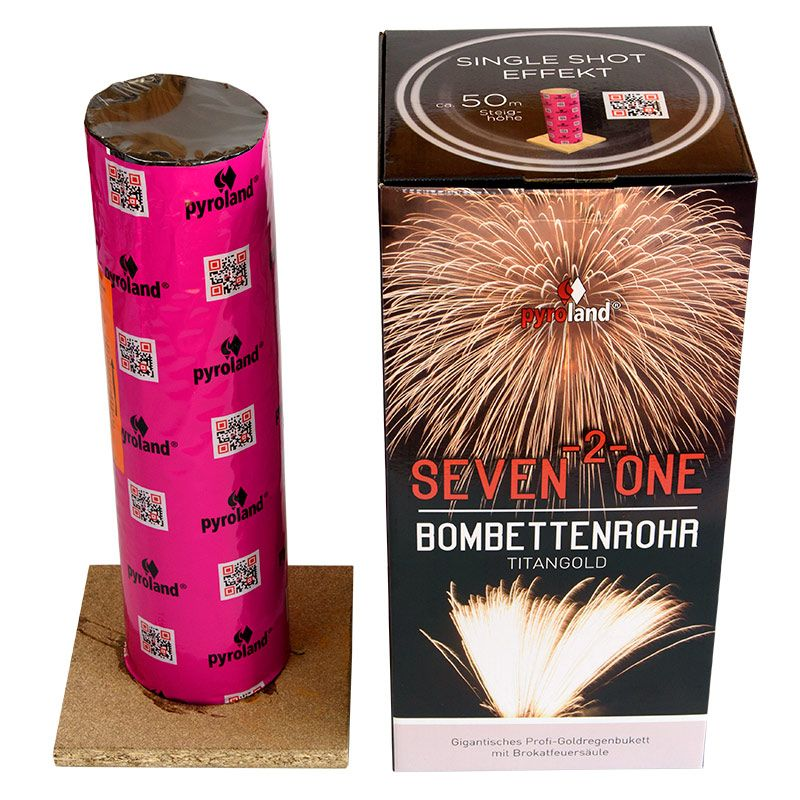 Jetzt Seven-2-One Bombettenrohr Titangold ab 19.99€ bestellen