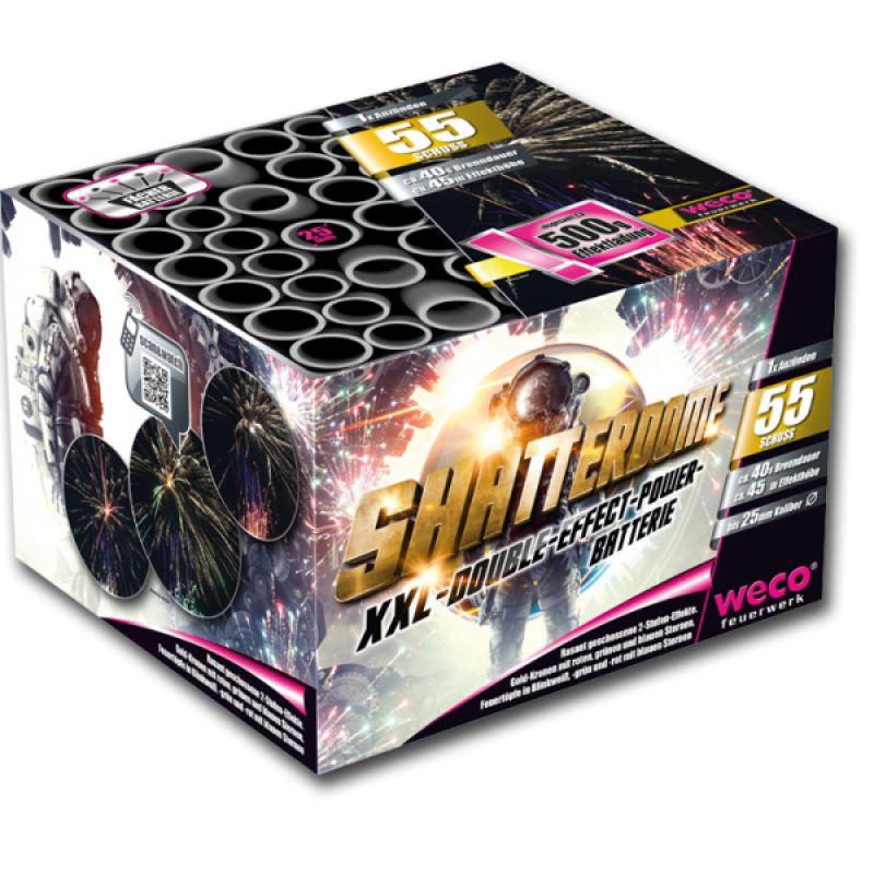 Jetzt Shatterdome 55-Schuss-Feuerwerk-Batterie ab 35.69€ bestellen