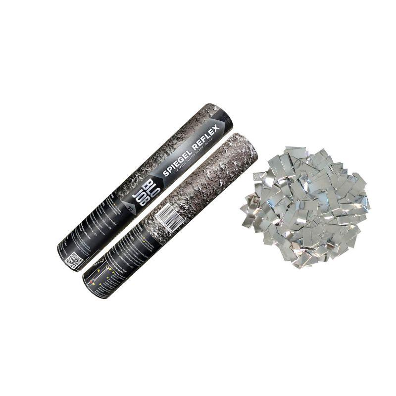 Jetzt Spiegel Reflex 30cm Metallicflitter silber ab 3.59€ bestellen