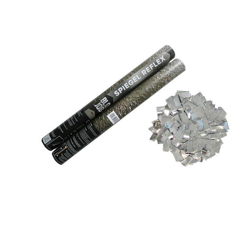 Jetzt Spiegel Reflex 50cm Metallicflitter silber ab 3.59€ bestellen