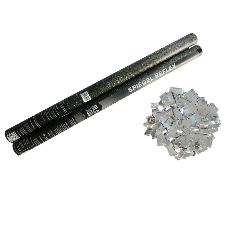 Jetzt Spiegel Reflex 80cm Metallicflitter silber ab 6.29€ bestellen