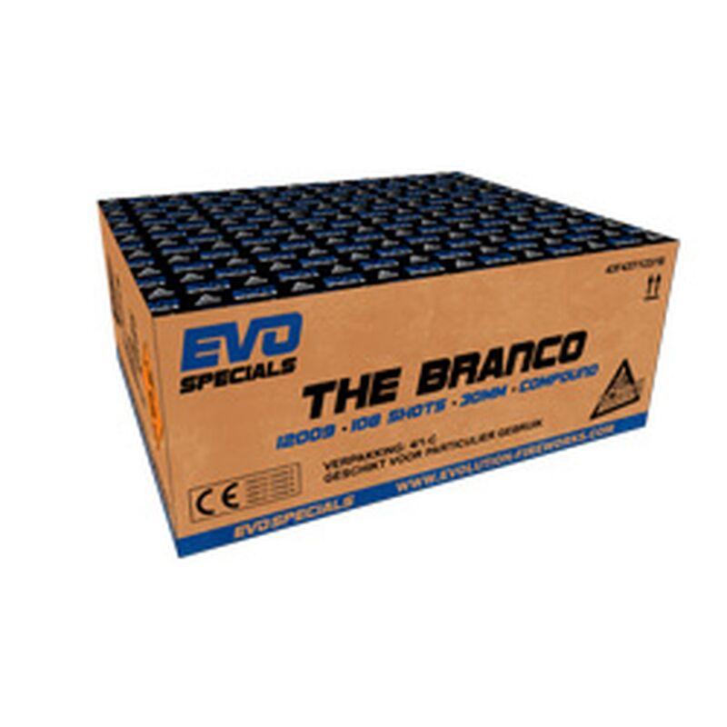 Jetzt The Branco 108-Schuss-Feuerwerkverbund ab 129€ bestellen
