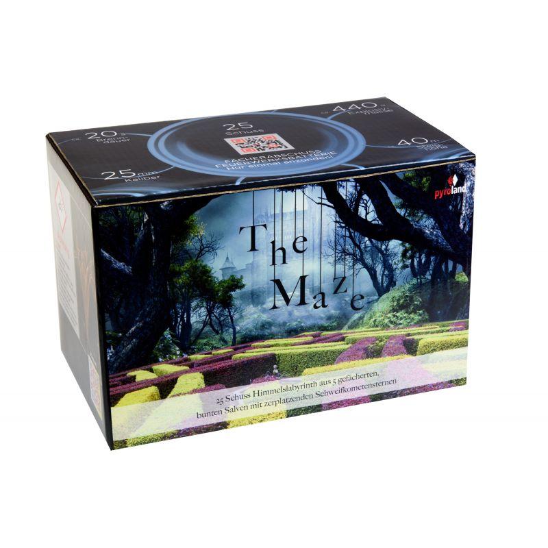 Jetzt The Maze 25-Schuss-Feuerwerk-Batterie ab 27.99€ bestellen