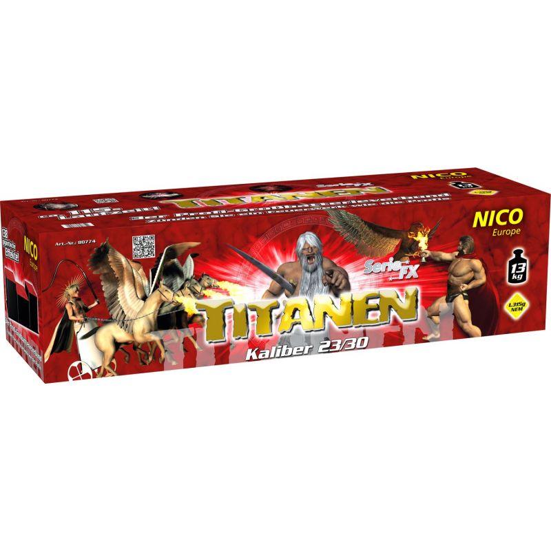 Jetzt Titanen 138-Schuss-Feuerwerkverbund ab 118.99€ bestellen