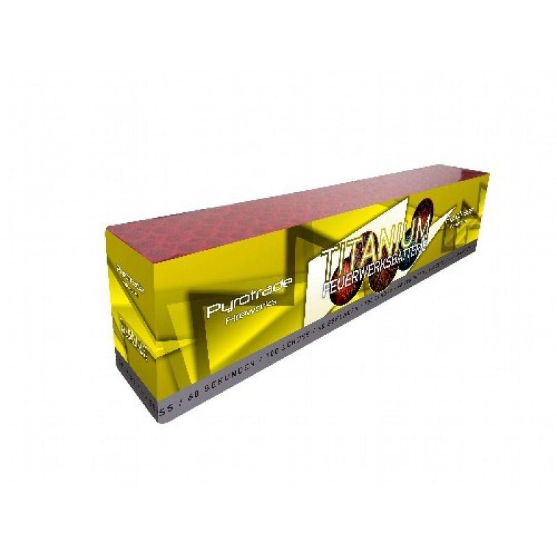 Jetzt Titanium 100-Schuss-Feuerwerk-Batterie ab 50.99€ bestellen