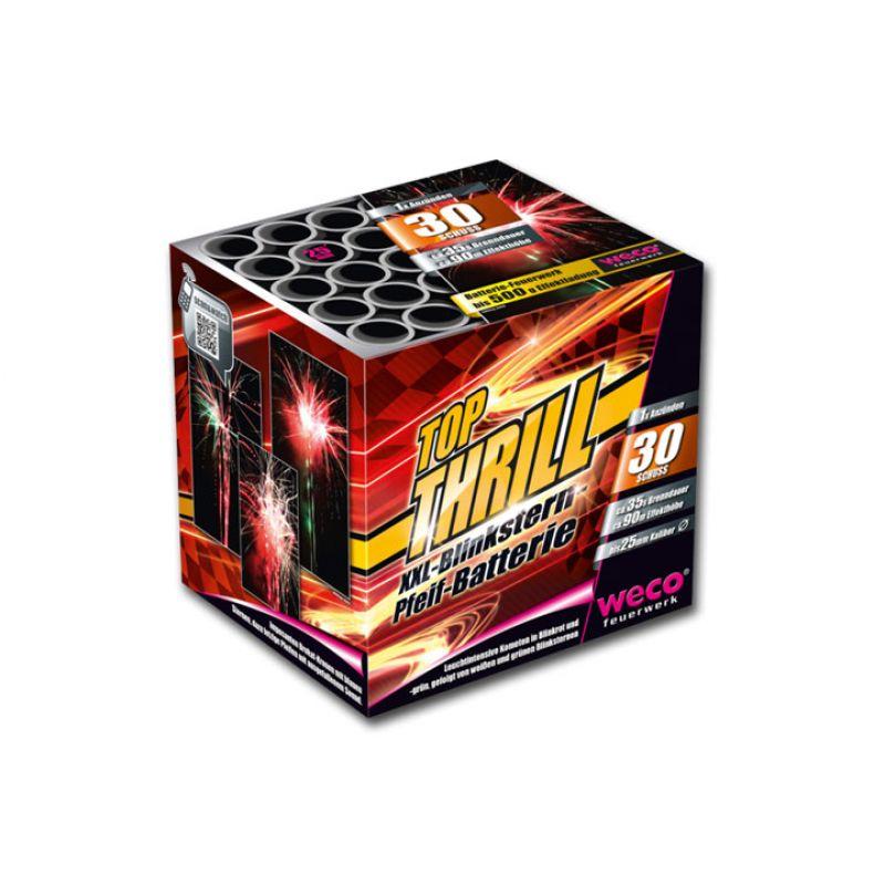 Jetzt Top Thrill 30-Schuss-Feuerwerk-Batterie ab 19.54€ bestellen