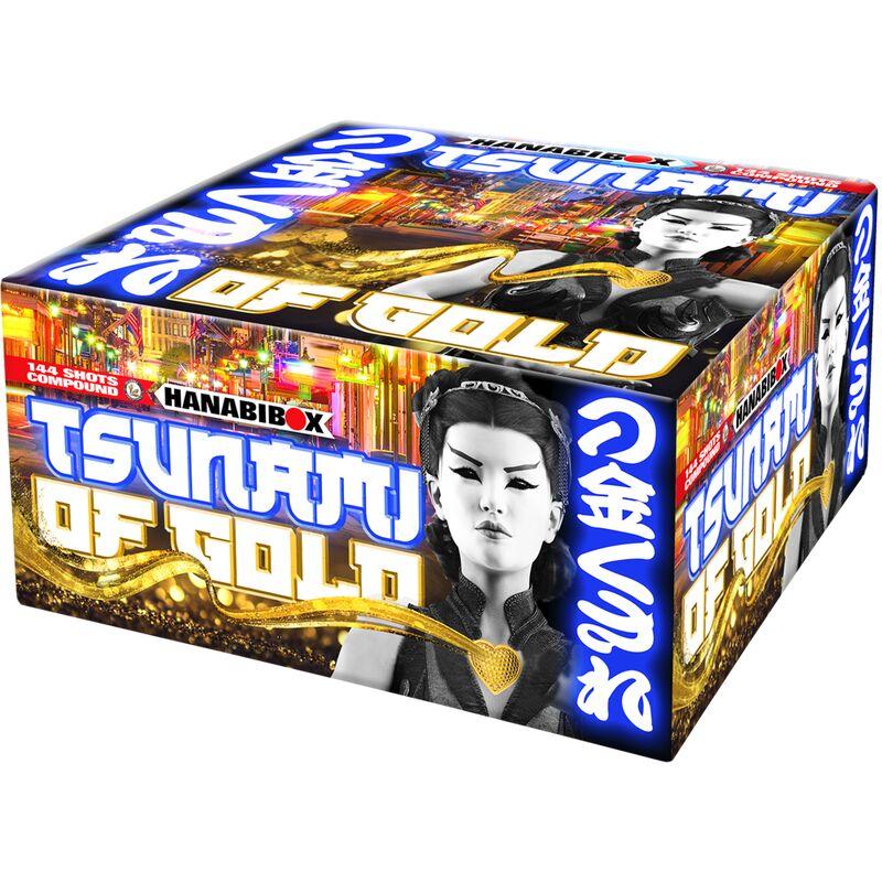 Jetzt Tsunami Of Gold 144-Schuss-Feuerwerkverbund (Stahlkäfig) ab 89.24€ bestellen