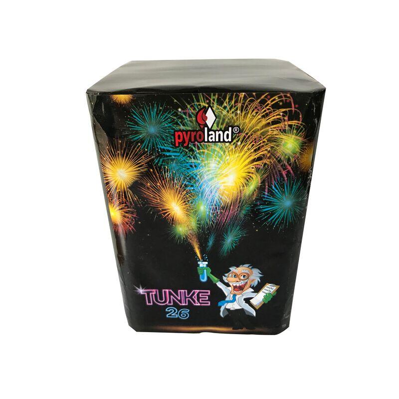Jetzt TUNKE 26 16-Schuss-Feuerwerk-Batterie ab 9.99€ bestellen