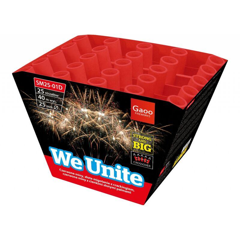 Jetzt We Unite 25-Schuss-Feuerwerk-Batterie ab 19.99€ bestellen
