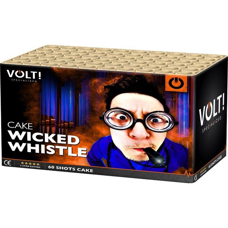 Jetzt Wicked Whistle 60-Schuss-Feuerwerk-Batterie ab 28.89€ bestellen