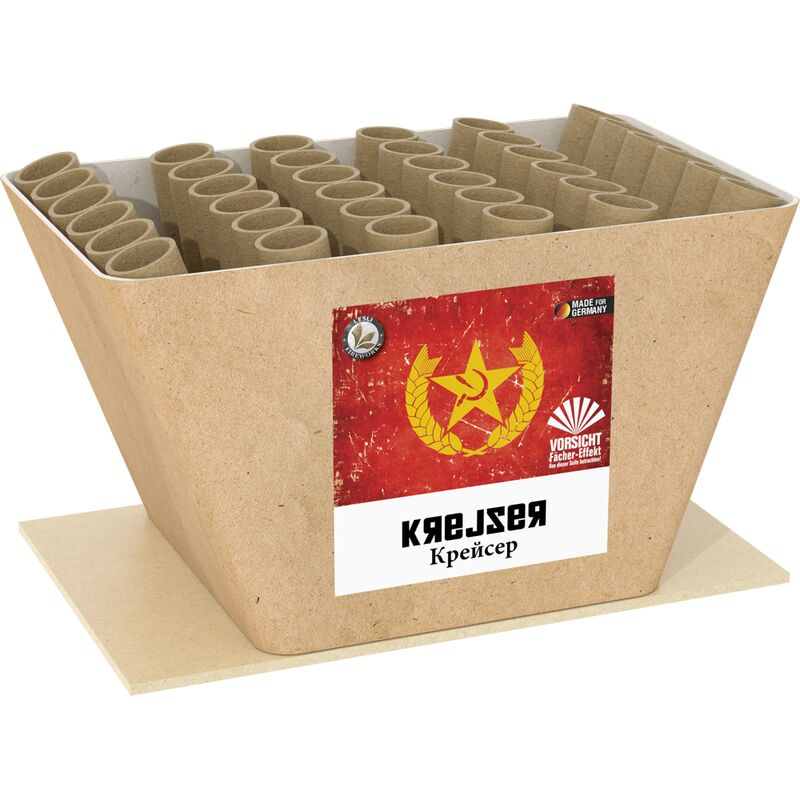 Jetzt Krejser 36-Schuss-Feuerwerk-Batterie (Stahlkäfig) ab 35.99€ bestellen