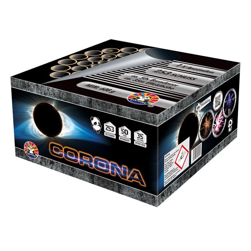 Jetzt Corona 253-Schuss-Feuerwerkverbund ab 46.74€ bestellen