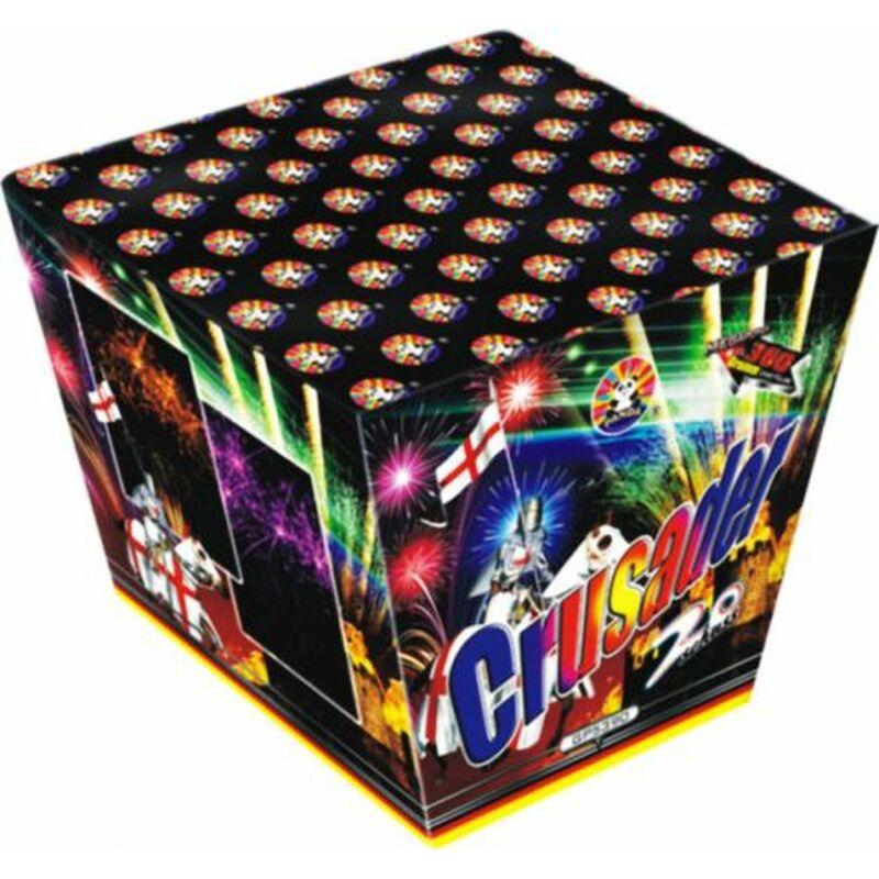 Jetzt Crusader 20-Schuss-Feuerwerk-Batterie ab 25.49€ bestellen