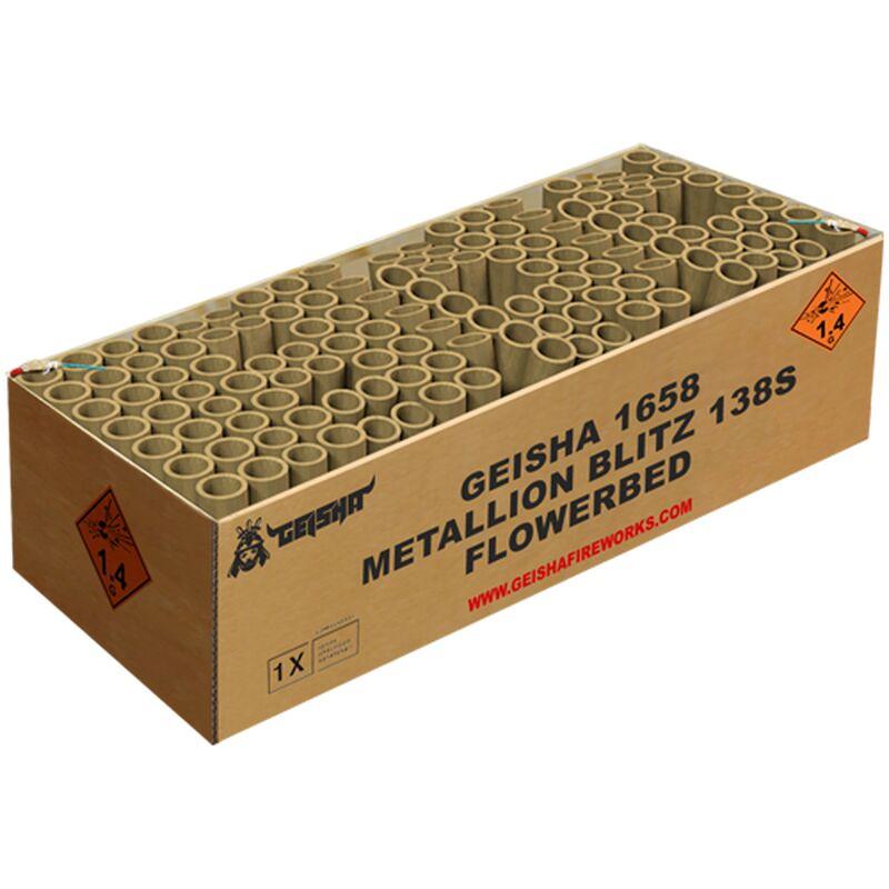 Jetzt Metallion Blitz 138-Schuss-Feuerwerkverbund ab 84.99€ bestellen