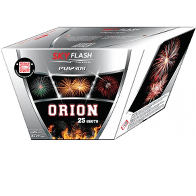Jetzt Orion 25-Schuss-Feuerwerk-Batterie ab 19.99€ bestellen