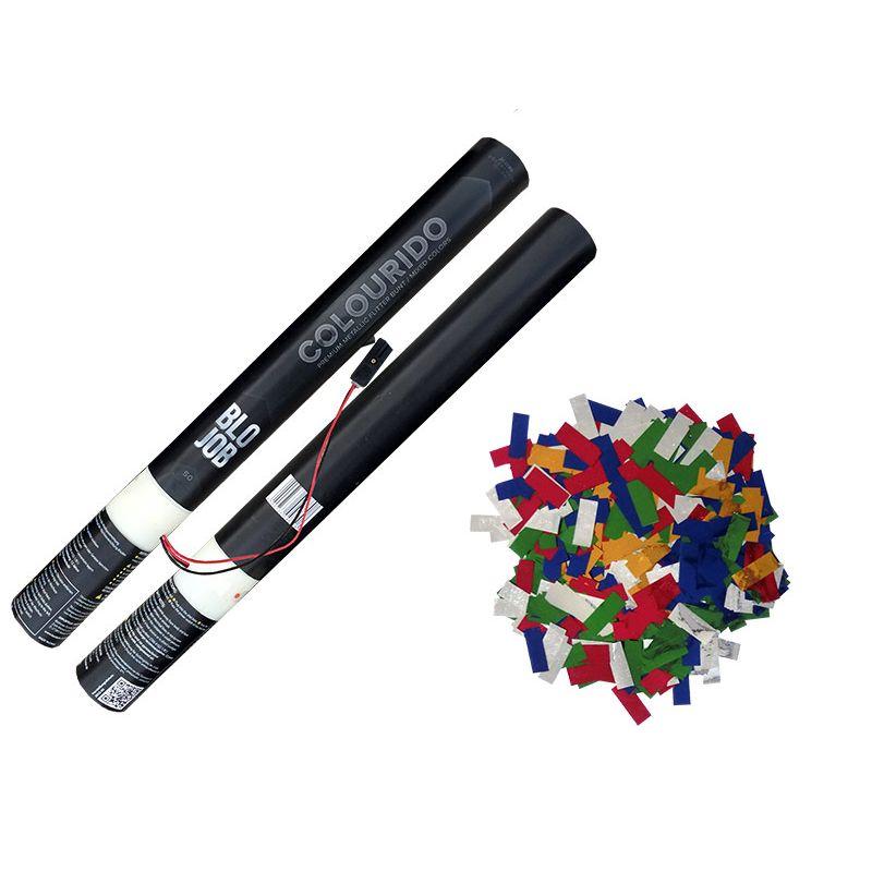 Jetzt Colourido 50cm elektrisch (Black Label) Metallicflitter bunt ab 1.7€ bestellen