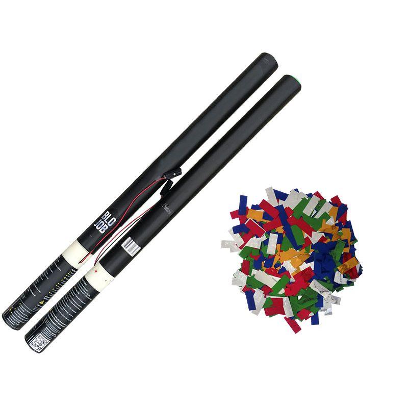 Jetzt Colourido 80cm elektrisch (Black Label) Metallicflitter bunt ab 1.91€ bestellen