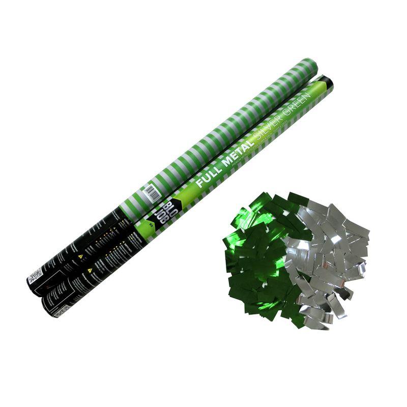Jetzt Full Metal grün-silber 80cm elektrisch Metallicflitter ab 1.91€ bestellen