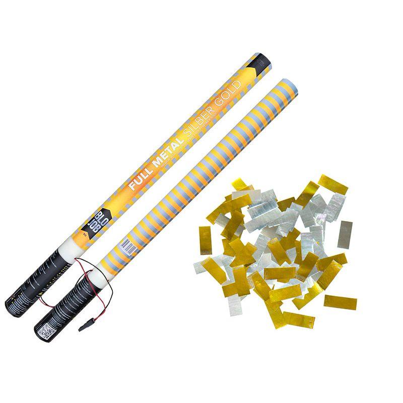Jetzt Full Metal silber-gold 80cm elektrisch Metallicflitter ab 1.91€ bestellen