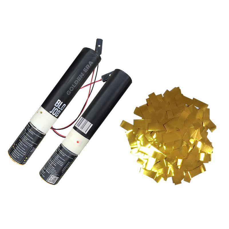 Jetzt Golden Era 30cm elektrisch (Black Label) Metallicflitter gold ab 1.27€ bestellen