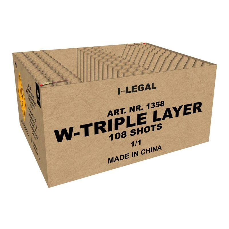Jetzt W-Triple Layer 108-Schuss-Feuerwerkverbund (Stahlkäfig) ab 101.99€ bestellen