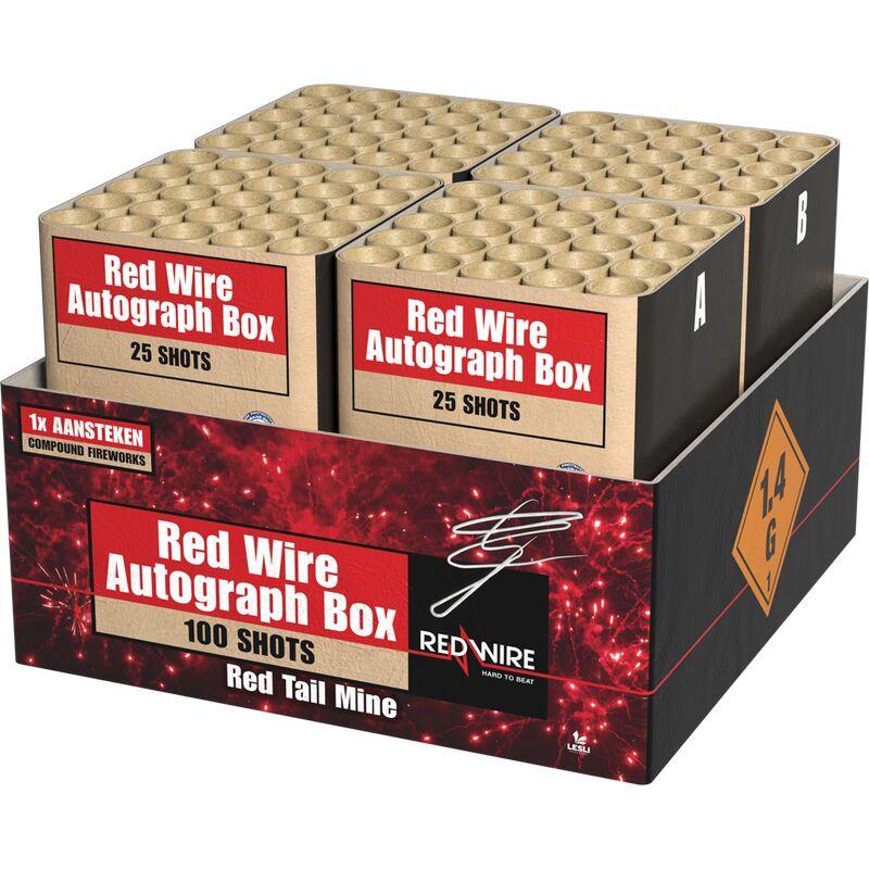 Jetzt Red Wire Autograph Box 100-Schuss-Feuerwerkverbund (Stahlkäfig) ab 97.74€ bestellen