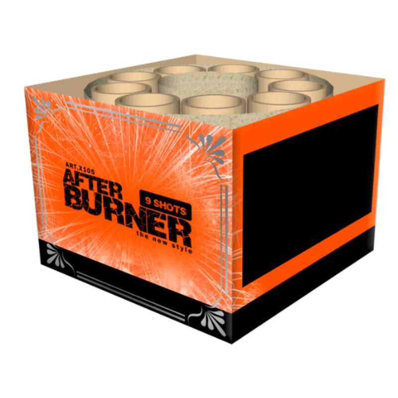 Jetzt Afterburner 9-Schuss-Feuerwerk-Batterie ab 6.79€ bestellen
