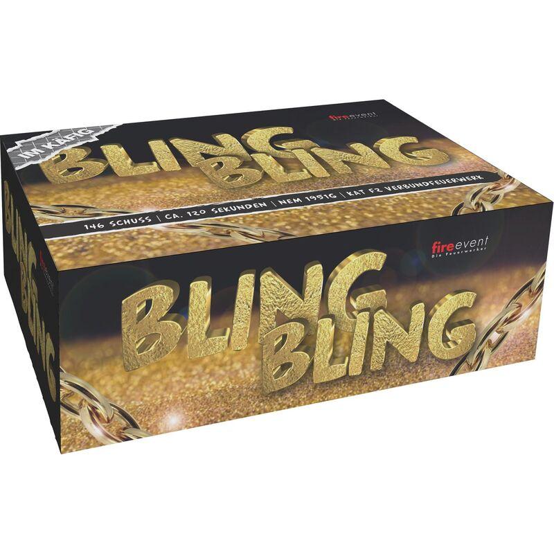 Jetzt Bling Bling 146-Schuss-Feuerwerkverbund (Stahlkäfig) ab 149€ bestellen