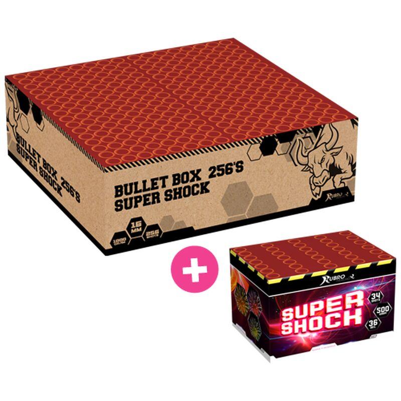 Jetzt Bullet Box + Super Shock 290-Schuss-Feuerwerkverbund ab 80.74€ bestellen