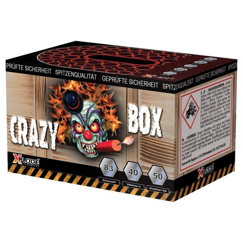 Jetzt Crazy Box 83-Schuss-Feuerwerk-Batterie ab 9.34€ bestellen
