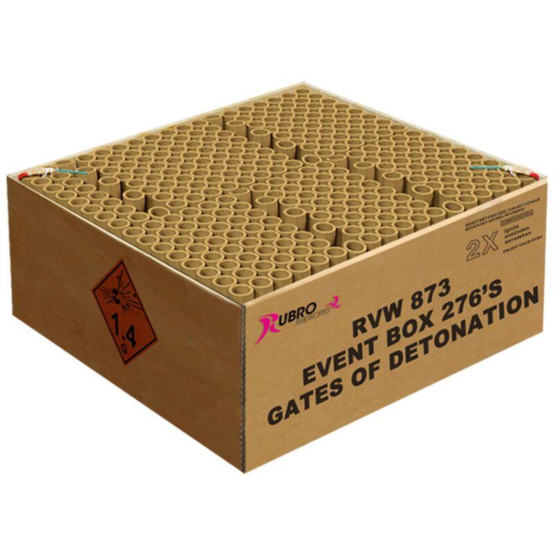 Jetzt Event gates of Detonation 276-Schuss-Feuerwerkverbund (Double Compound) ab 182.74€ bestellen