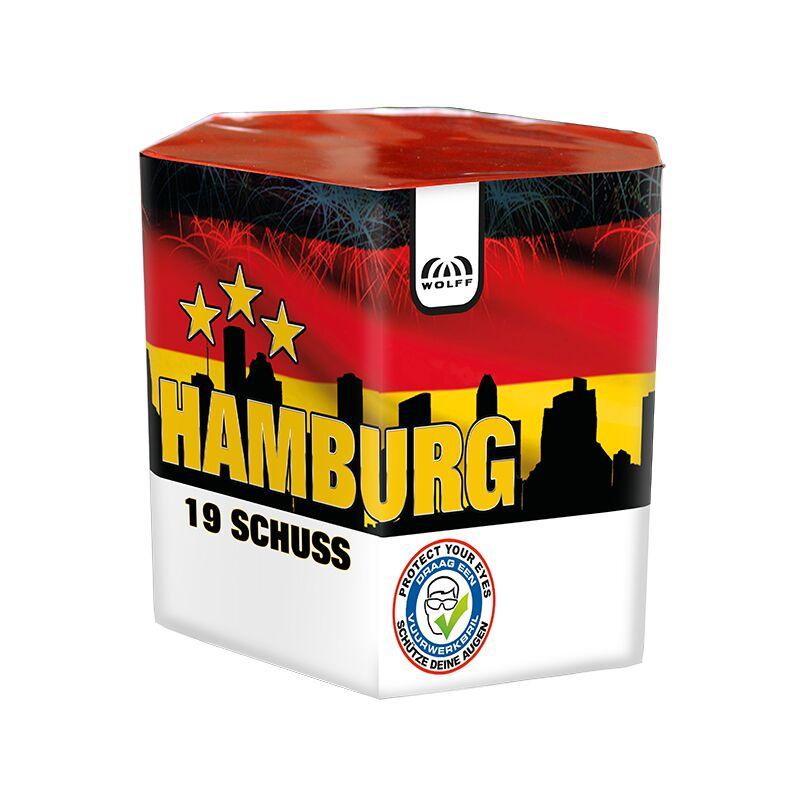 Jetzt Hamburg 19-Schuss-Feuerwerk-Batterie ab 8.49€ bestellen