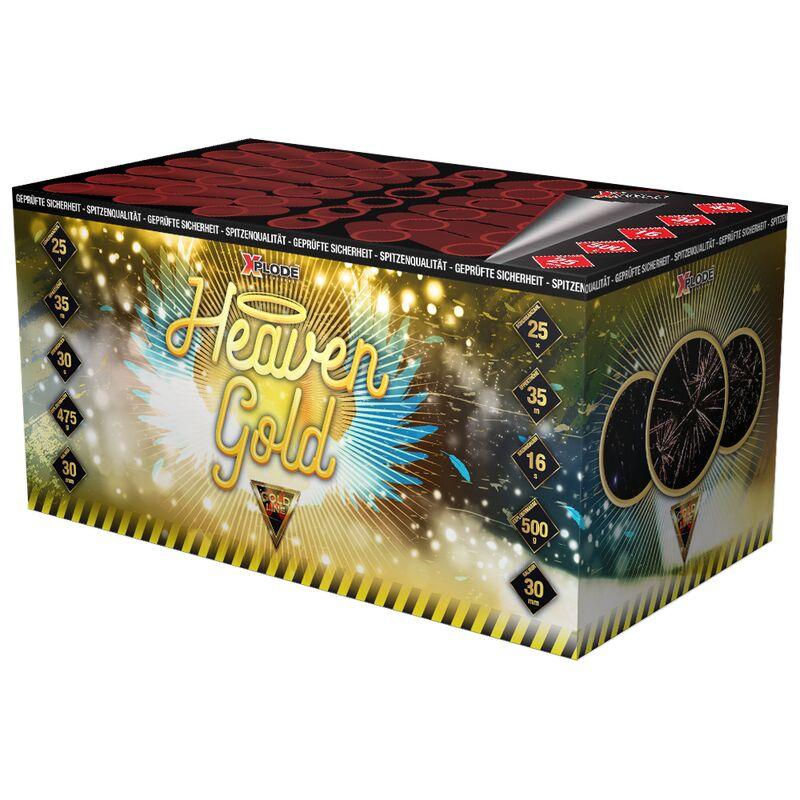 Jetzt Heaven Gold 42-Schuss-Feuerwerk-Batterie ab 29.74€ bestellen