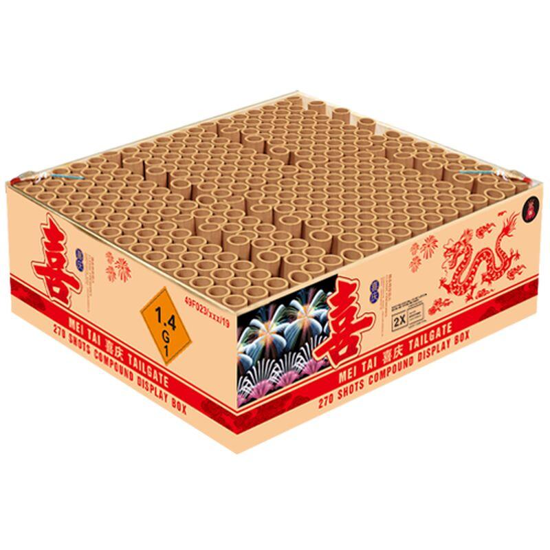 Jetzt Mei Tai Tailgate 270-Schuss-Feuerwerkverbund ab 186.99€ bestellen