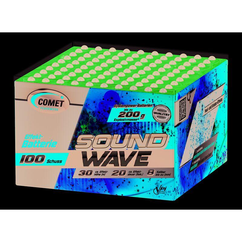 Jetzt Soundwave 100-Schuss-Feuerwerk-Batterie ab 4.24€ bestellen