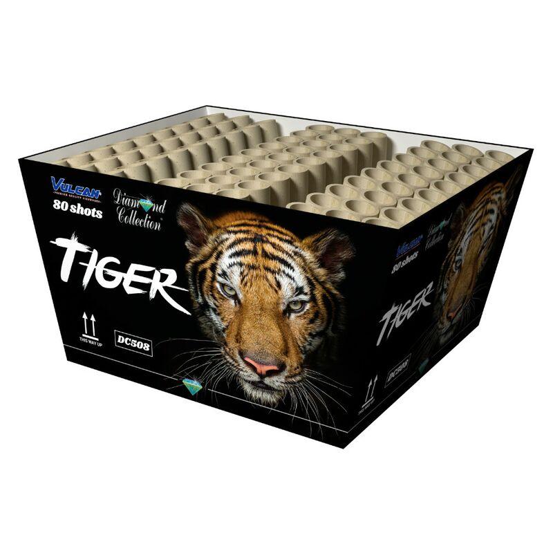 Jetzt Tiger 80-Schuss-Feuerwerk-Batterie ab 39.94€ bestellen
