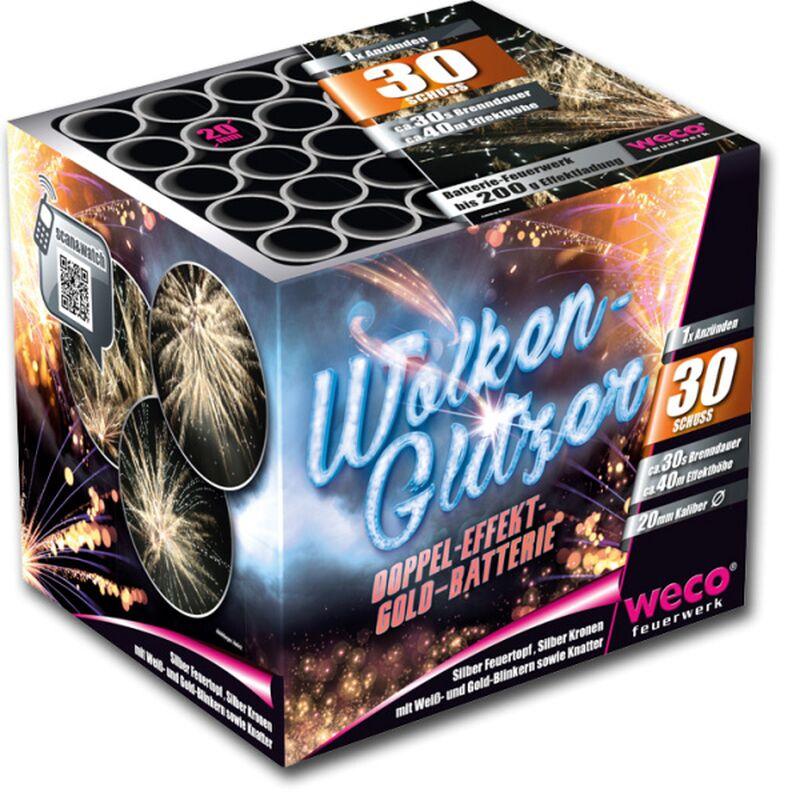 Jetzt Wolkenglitzer 30-Schuss-Feuerwerk-Batterie ab 14.44€ bestellen