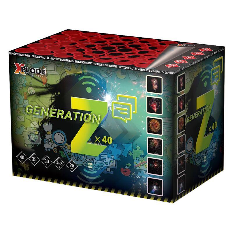 Jetzt Z-Generation 40-Schuss-Feuerwerk-Batterie ab 23.79€ bestellen